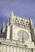 Burgos Cathedral Tower — Stock Photo