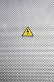 Hazard symbol — Stock Photo