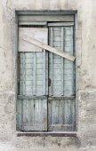 Door propped — Stock Photo