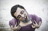 Homem psicopata — Fotografia Stock