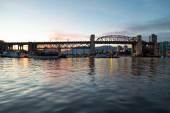 Burrard ulicy Most z vancouver — Zdjęcie stockowe