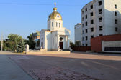 Samara, Russia - August 15, 2014: the chapel. The chapel in Sama — Stock Photo