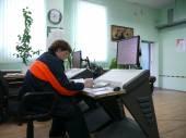 Ryssland, nadym - 6 juni 2011: corporation gazprom i novy ureng — Stockfoto