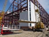 RUSSIA, NADYM - JUNE 6, 2011: Corporation GAZPROM in Novy Ureng — Stock Photo