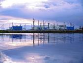 Ryssland, nadym - september 4, 2007: corporation gazprom i novy — Stockfoto