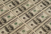 Dollar bank note money background — Stock Photo
