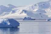 Nature and landscapes of Antarctic — Stock Photo