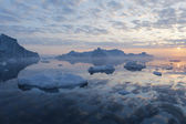 Nature and landscapes of Greenland — Stock Photo