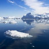 Przyroda i krajobrazy z Grenlandii. — Zdjęcie stockowe