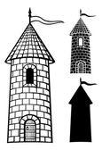 Středověká věž — Stock vektor