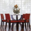 Table and chairs in room — Stock Photo #55273375
