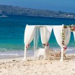 ������, ������: Beach wedding set up tropical outdoor wedding reception beauti