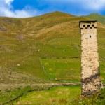 Ushguli, Upper Svaneti, Georgia, Europe. Caucasus mountains. — Stock Photo #55276375