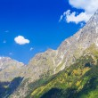 Beautiful view of alpine meadows. Upper Svaneti, Georgia, Europe — Stock Photo #55276479
