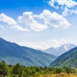 Beautiful view of alpine meadows. Upper Svaneti, Georgia, Europe — Stock Photo #55276483
