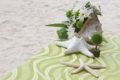 Table center piece. wedding table decoration — Stock Photo