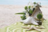 Table center piece. wedding table decoration — Stockfoto