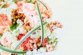 Svatební kytice, samostatný — Stock fotografie