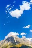Beautiful view of alpine meadows. Upper Svaneti, Georgia, Europe — Stock Photo