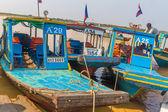 Kampong, Siem Reap, Cambodia February, 27 2015: Undefined touris — Stock fotografie