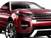 Compact Red SUV — Photo
