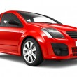 Compact red car — Stock Photo #73547743