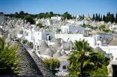 Alberobello's trulli, Apulia, Italy — Stock Photo