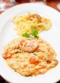 Tasting set of risotto and pasta — Fotografia Stock