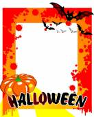 Gelukkig halloween poster — Stockvector