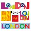 London text. — Stock Vector #61615289