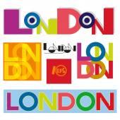 London text. — Stock Vector
