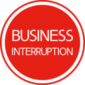Business interruption. — ストックベクタ