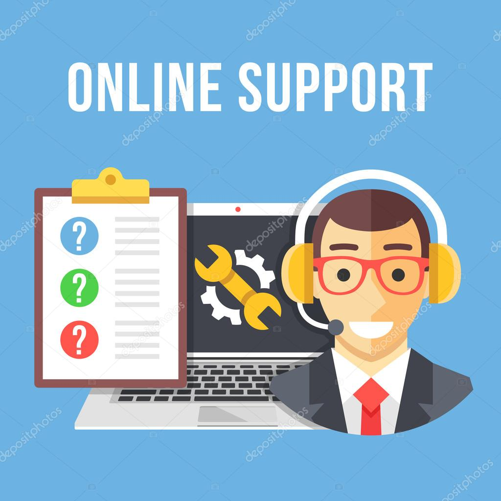 technical support technical support manager laptop and repair technical support technical support manager laptop and repair icon clipboard and customer questions