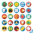 Modern Vector Flat Icons Set 8 — Stock Vector #52544971