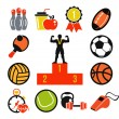 Sport icon set — Stock Vector #57047281