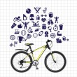 Sport sketch icon set — Stock Vector #58818517