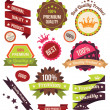 Premium Vector Badges and Labels — Stock Vector #66887967