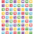 Universal web icons and mobile icons — Cтоковый вектор #69814829