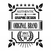 Vintage badge 3 — Stock Vector