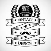 Vintage badge 5 — Stock Vector