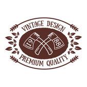 Vintage badge 4 — Stock Vector