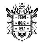 Vintage banner 21 — Stock Vector