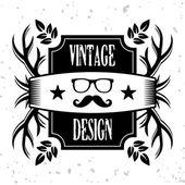 Vintage banner 8 — Stock Vector