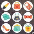 Colorful vector icons for web and mobile applications. Set 7 — Stock Vector #71428247