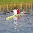 Two rowers in a boat — Stock Photo #52972447