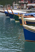 Wooden ships, in the port  — Photo