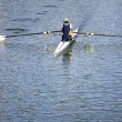 Rower in a boat — Stock Photo #55039653