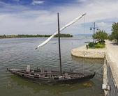 Ancient Ship at Nin, Croatia  — Stock Photo