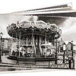 Vintage photos Carousel — Stock Photo #57646405
