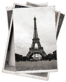 Vintage photo Eiffel tower in Paris — 图库照片
